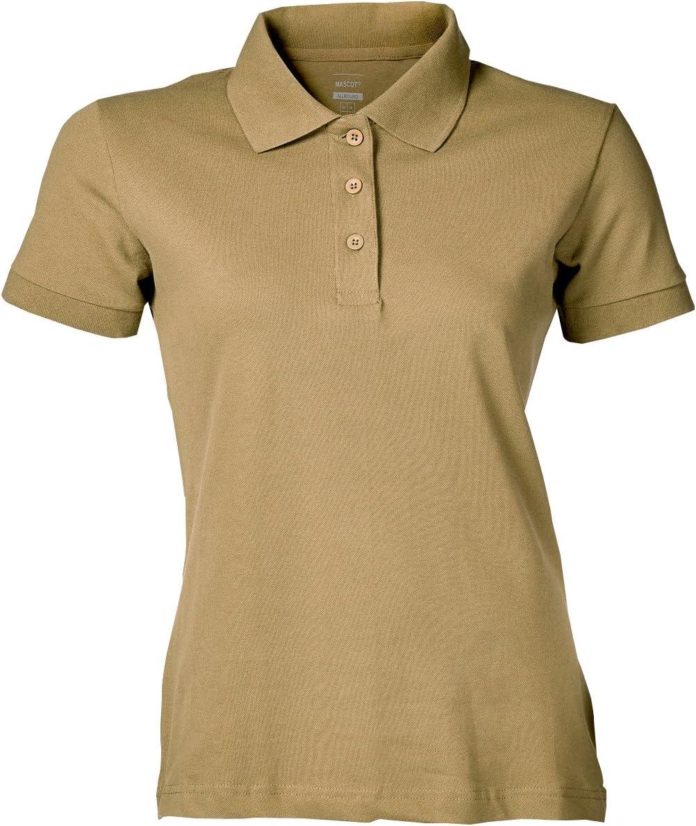 LIGHT Orange Mascot 51588-969-98-XL Woman-PoloshirtGrasse Size XL
