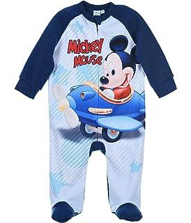 Mickey bebé-niños Pijama Largo: Amazon.es: Ropa y accesorios
