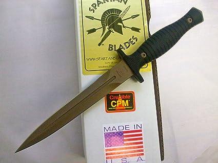 Amazon.com: Spartan George V-14 Dagger - Cuchillo de combate ...