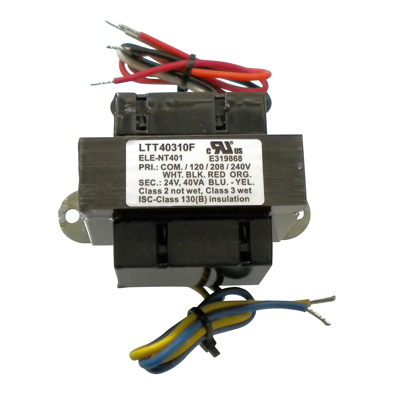 Protactor Universal Furnace Transformer 115 208 240 Volt Ac Wiring Primary 24 Secondary 40 Va Garden Outdoor
