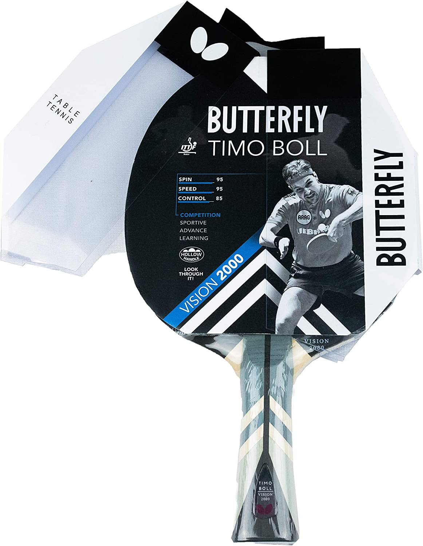 Butterfly Timo Boll Vision 2000 Tischtennisschl/äger