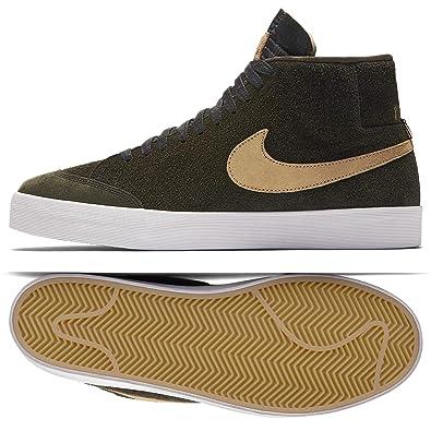 hot sale online 43e85 a7651 Nike SB Zoom Blazer Mid QS We Club 58 AH6158-369 Sequoia Gold Men s