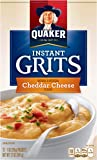 Quaker Instant Grits, Cheddar Cheese Flavor, 12 Packets
