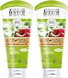lavera Apfel Haar Shampoo ∙ Sanfte Reinigung ∙ vegan ✔ Bio Haarshampoo ✔ Natural & innovative Hair Care ✔ Naturkosmetik ∙ Haarpflege 2er Pack (2 x 200 ml)