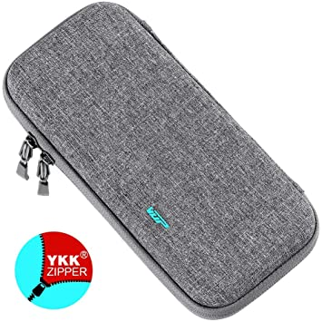VUP Ultra Slim Carrying Case for Nintendo Switch, Switch Hard Cover Portable Protective Travel Shell for Nintendo Switch Console & Accessories with 8 ...