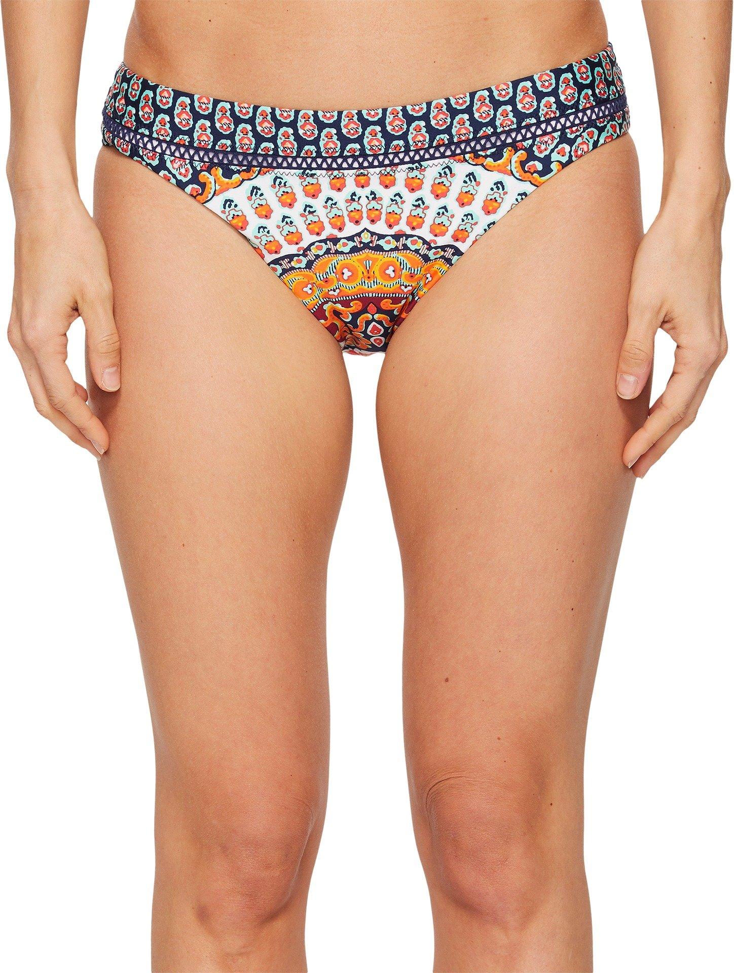 Nanette Lepore Women's Super Fly Paisley Hipster Bikini Bottom Multi XS