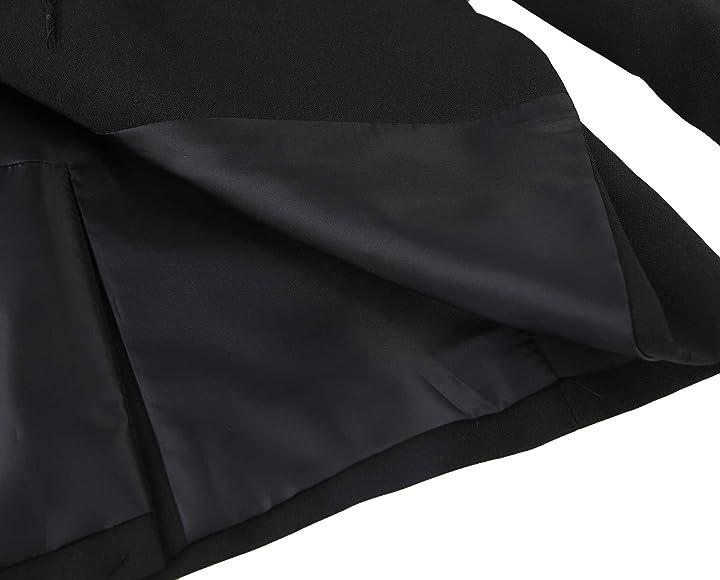 New School Uniform Teflon Boys Blazer Jacket Black Size 48