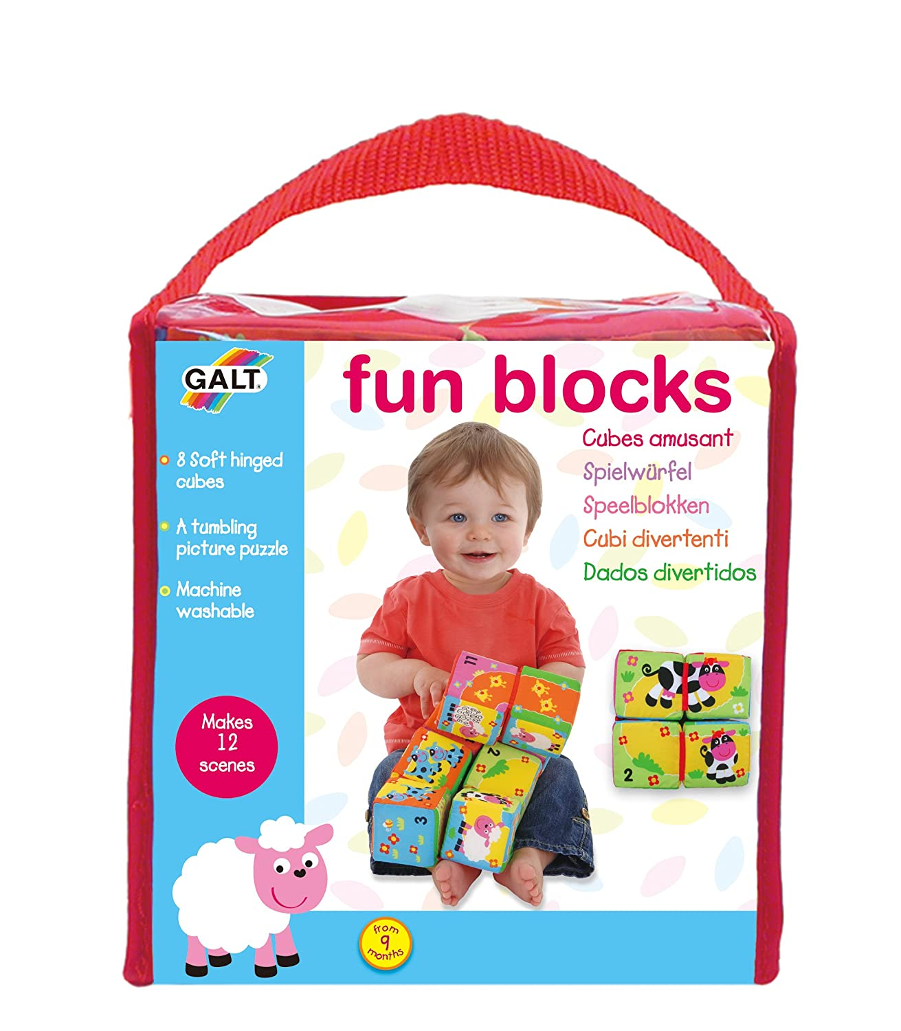Galt Toys Fun Blocks Amazon Toys & Games