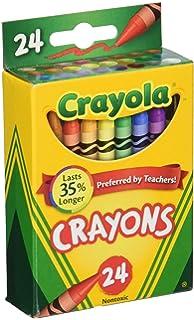 amazon com crayola 800 ct crayon classpack 8 assorted colors 52