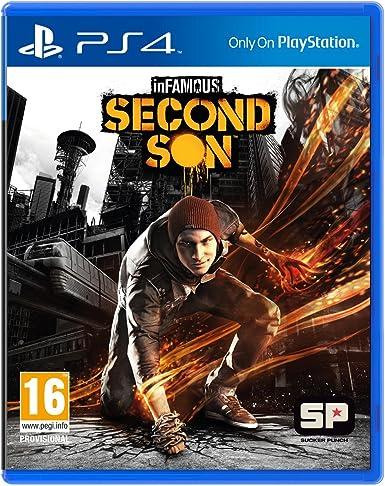 Sony inFAMOUS Second Son, PS4 Básico PlayStation 4 vídeo - Juego ...