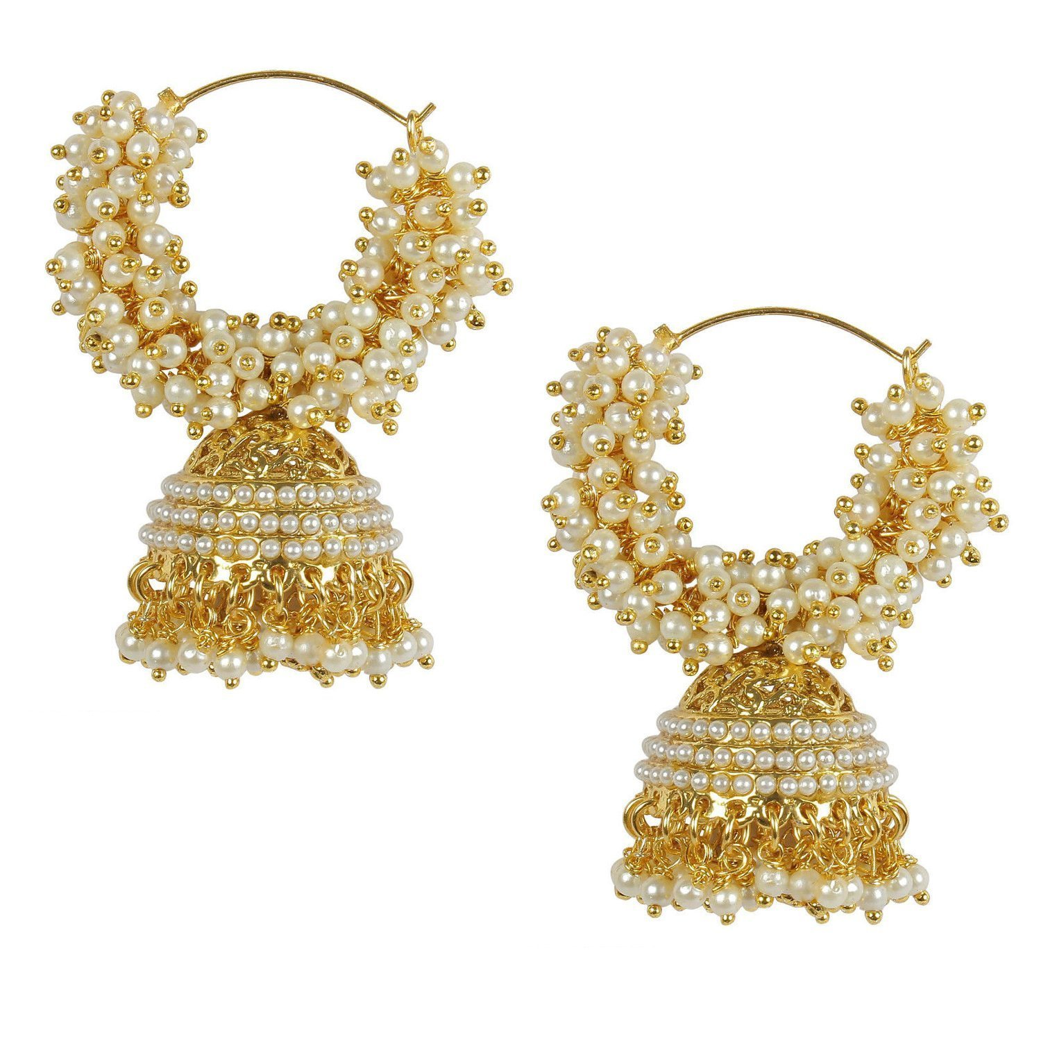 Pearl Stylish earrings for stylish girls