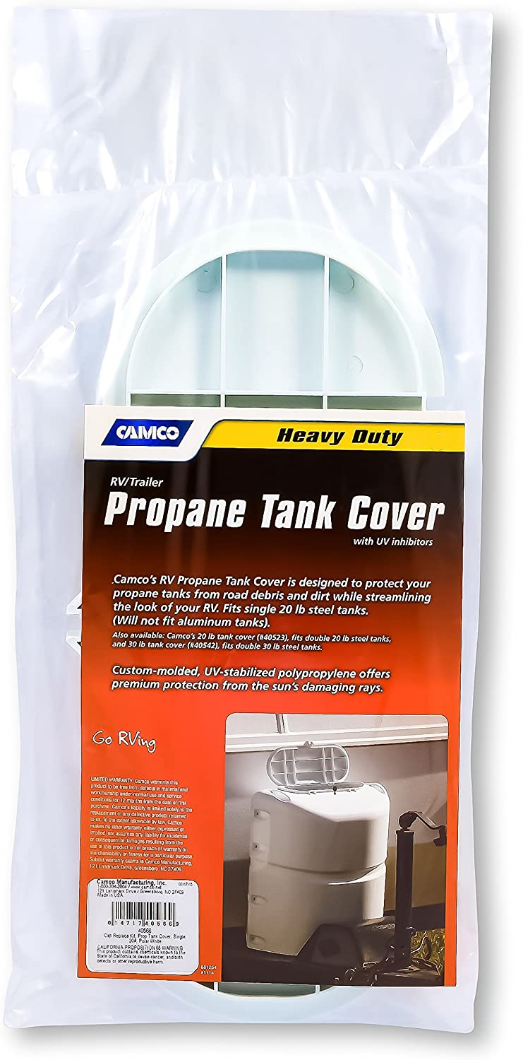 Amazon Com Camco 40566 Lid Replacement For 20 Lb Single Propane Tank Cover Polar White Automotive