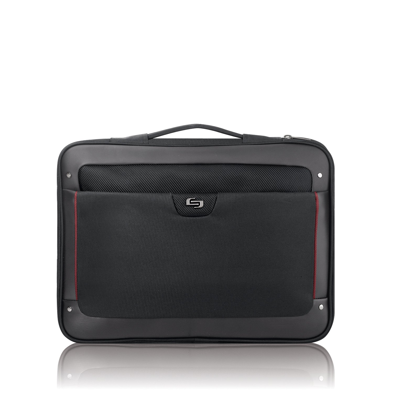 Solo Elite 17.3 Inch Laptop Slim Brief, Black