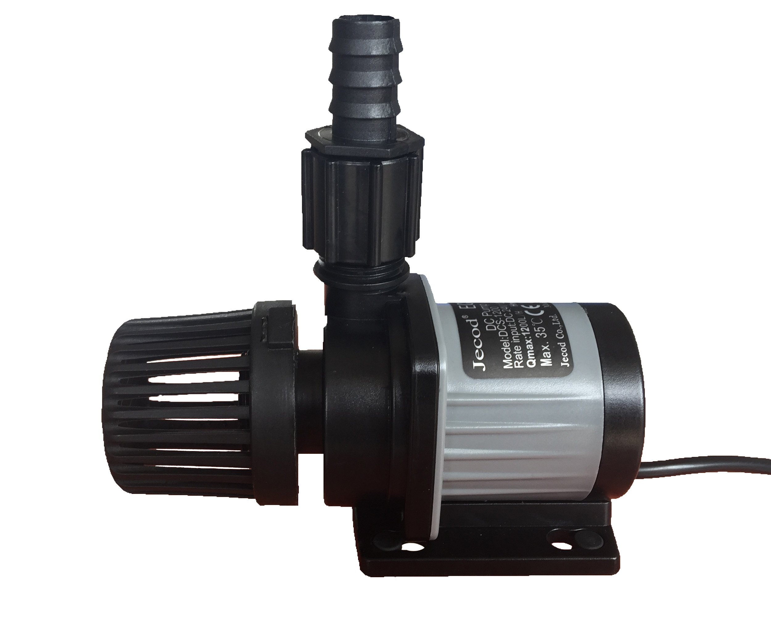Jebao/Jecod DCS-1200 DC Water Pump 320GPH 4.9ft for Marine Reef Tanks Sump Skimmer Protein by Jebao/Jecod