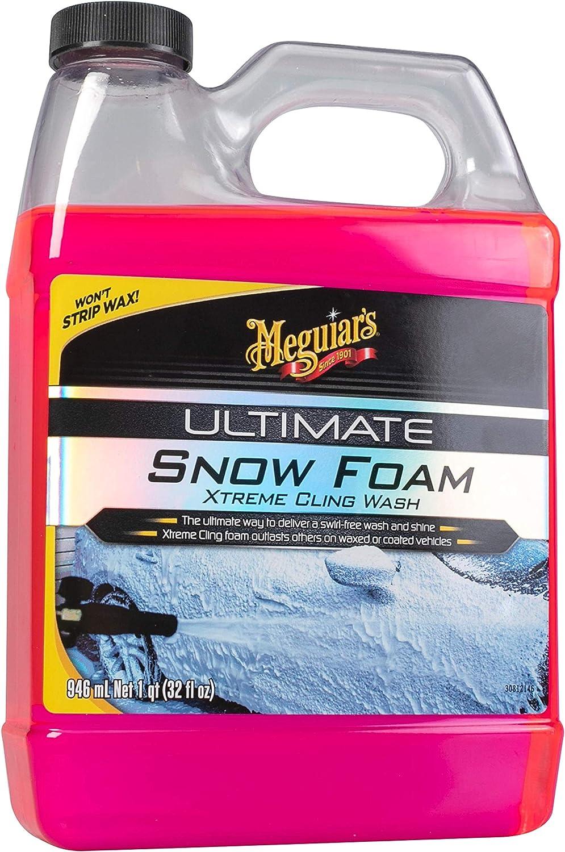 Meguiar S G191532eu Meguiars Ultimate Snow Foam Reinigungsschaum 946 Ml Auto