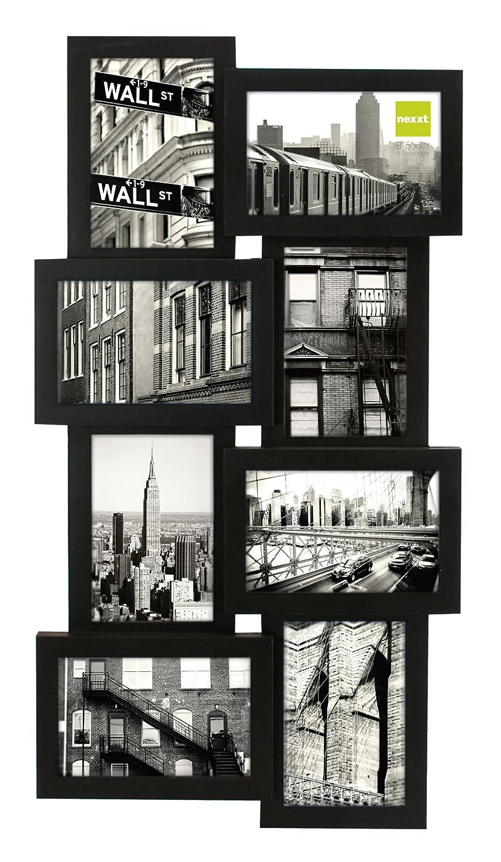 Amazon.de: Nexxt Linea Array Collage Wand Rahmen, für acht Fotos à ...