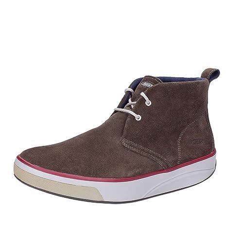MBT Botines Hombre Gamuza marrón 42 EU: Amazon.es: Zapatos y complementos