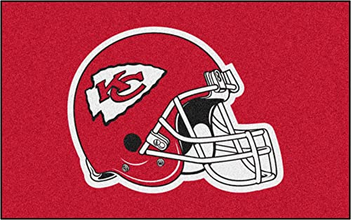 FANMATS NFL Kansas City Chiefs Nylon Face Ultimat Rug