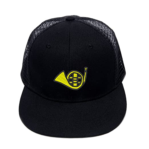 22af7dc5036 Fashion Street Dance Cap Mesh Embroidery French Horn Snapback Hats for Men