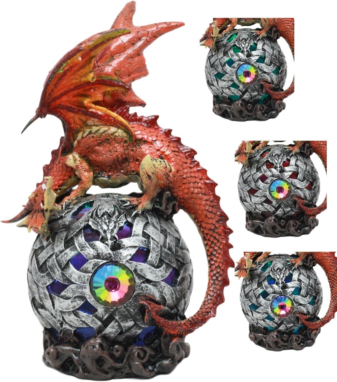 Mystical Dragon Egg LED Night Light Purple Colour Changing Night Light Wireless