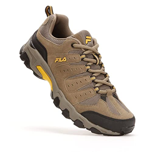 a66e8e3fdc Fila Travail Mens US Size 14 Brown X Wide Suede Trail Running Shoes ...