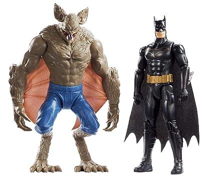 Amazon Com Batman Missions Batman Vs Man Bat 2 Pack Figures Toys
