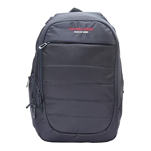 c159c6ce19fd U.S.POLO. ASSN 22 Ltrs Blue Casual Backpack (USLO0110)  Amazon.in  Bags
