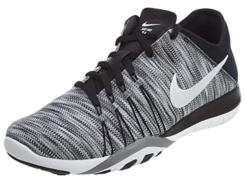 sneakers for cheap 511fd af4fb Nike Womens WMNS Free TR 6 AMP, BlackWhite-Cool Grey, 9.5