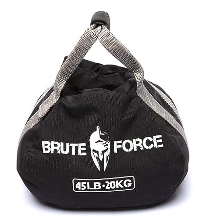 80e7b5fe6bec Amazon.com   Brute Force Kettlebells  Adjustable Kettlebell in Black ...