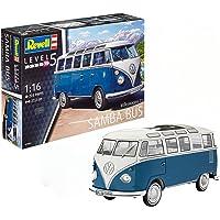Revell Maqueta Volkswagen T1 Samba Bus, Kit Modelo