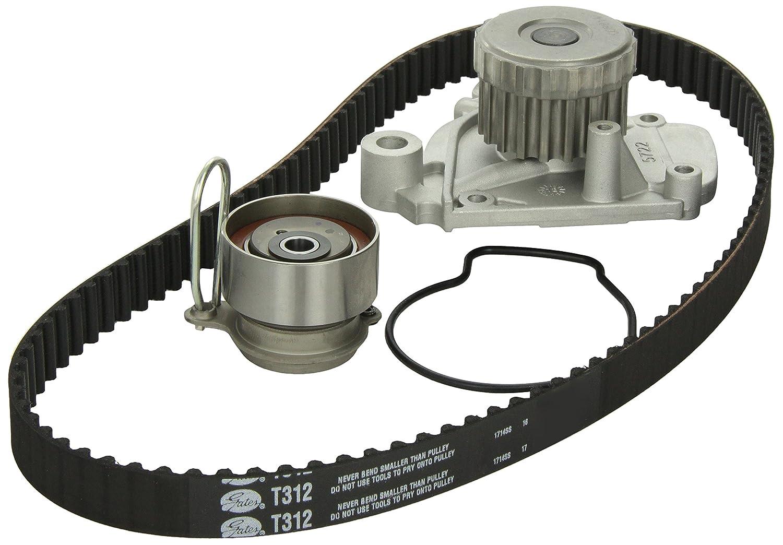 Gates Tckwp312 Engine Timing Belt Kit With Water Pump Saab Automotive