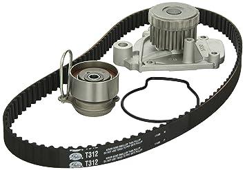 Gates tckwp312 Motor Kit de Correa de distribución con bomba de agua: Amazon.es: Coche y moto