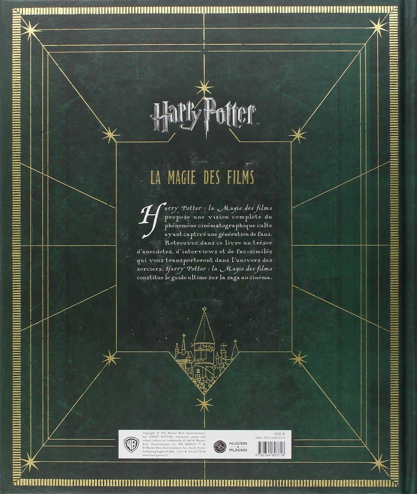 Harry Potter La Magie Des Films Brian Sibley David