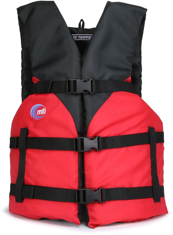 MTI Adventurewear Day Tripperライフジャケット B01CL338GQ  レッド Universal Size