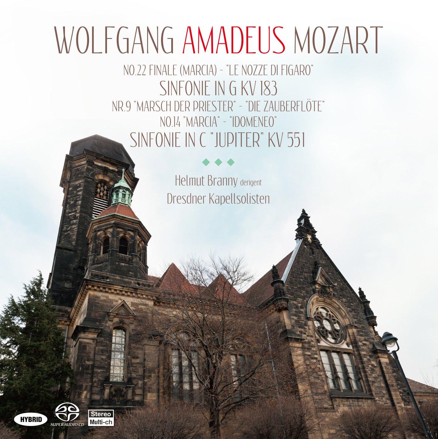 SACD : HELMUT BRANNY/DRESDNER KAP - Mozart: Symphonies 25 (Hybrid SACD, Japan - Import)