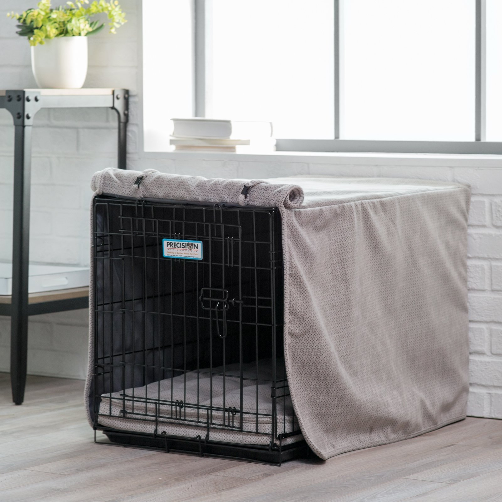 Luxury Crate Cover Size: X-Large (30'' H x 28'' W x 42'' L) by Bowsers (Image #2)