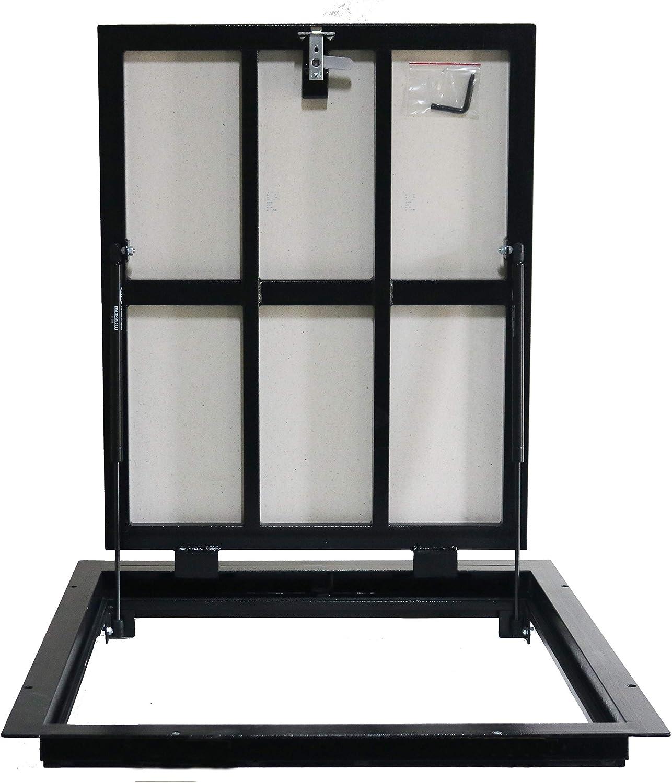 Trappe de sol Trappe d/'acc/ès 900 mm x 900 mm Panneau dacc/ès Trappe de visite