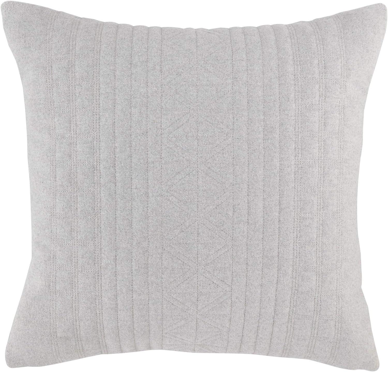 Nautica Seaford Throw Pillow 18 X 18 Grey Home Kitchen