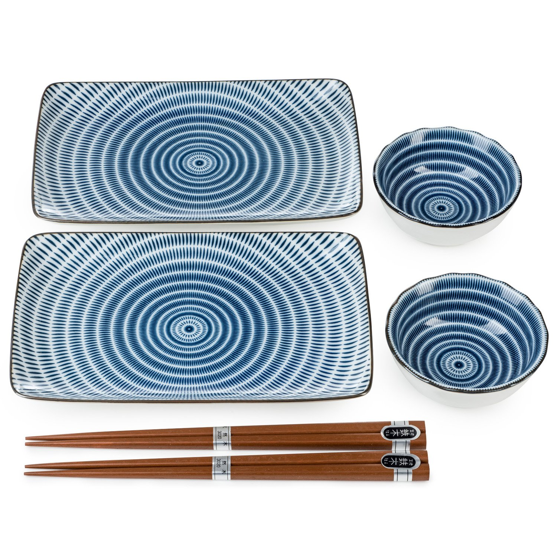 Tochiri 6pce Japanese Sushi Set The Japanese Shop
