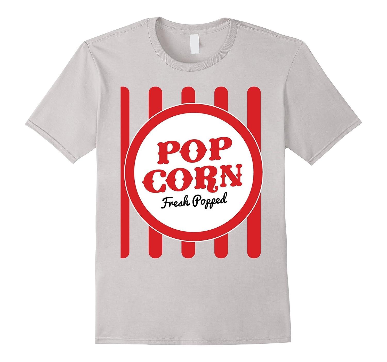 Old Fashion Popcorn Costume T-Shirt Halloween Trick Or Treat-4LVS