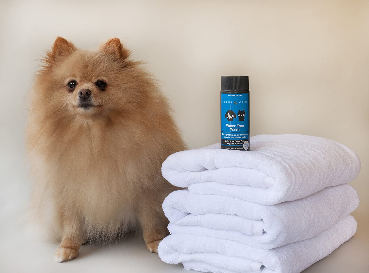 Rufus & Coco Natural Dog Shampoo and Conditioner, Sulfate & Paraben Free,  pH balanced, Hypoallergenic Fresh Fragrance, Safe for Cat