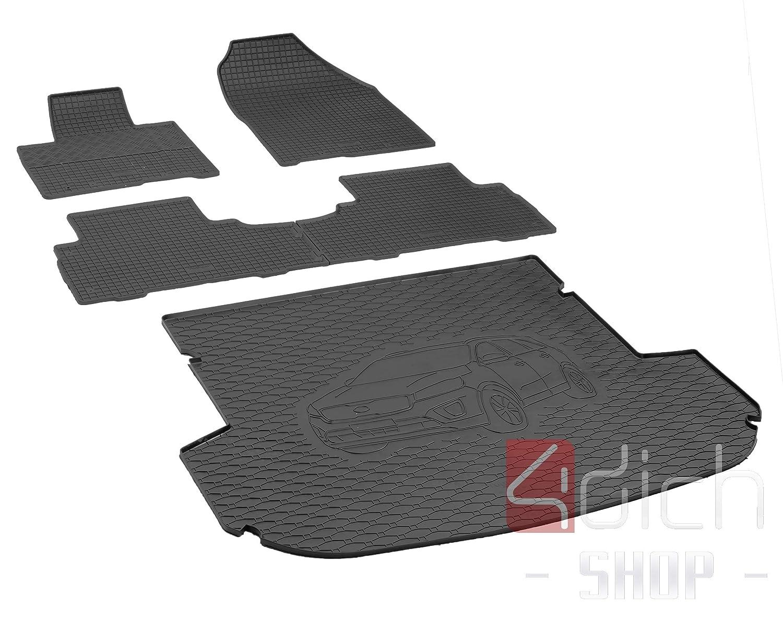 Kofferraummatte Teppich Fußmatten Citroen Berlingo 1