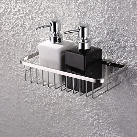 KES Shower Caddy, Bathroom Shelf 10 Inch Rustproof Rectangular ...