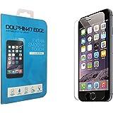 DOLPHIN47 強化ガラス 液晶保護フィルム iPhone7 / iPhone 6s / iphone 6 ガラスフィルム 薄さ0.2mm 3D touch 対応 日本製素材 表面硬度9H ラウンドエッジ