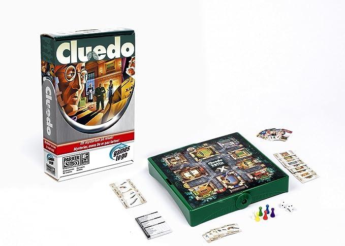 Hasbro Cluedo de viaje: Amazon.es: Juguetes y juegos