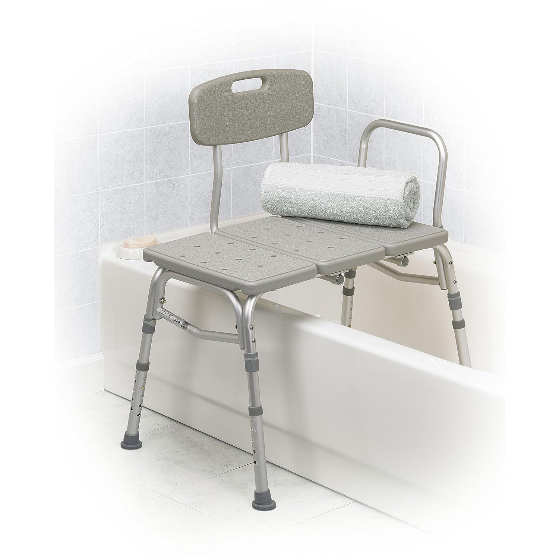 Amazon.com: Drive Medical Three Piece Transfer Bench, Gray: Health &  Personal Care