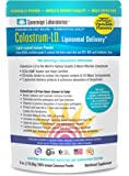 Colostrum-LD Powder with Proprietary Liposomal Delivery (LD) Technology for up to 1500% Better Bioavailability than Regular Bovine Colostrum (Vanilla, 6 Ounce)