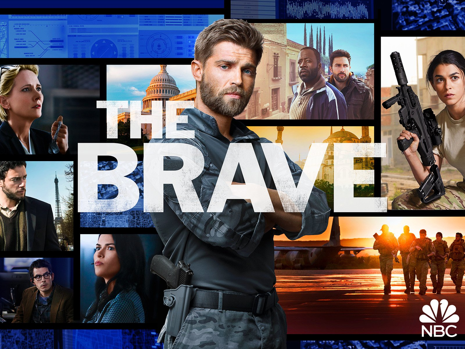 Amazon com: The Brave, Season 1: Anne Heche, Mike Vogel, Sofia
