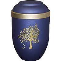 ZYHJAMA Urna funeraria de Recuerdo Mediana de 5Urna funeraria de cer/ámica para Cenizas de Mascotas y Humanos Urnas funerarias en casa