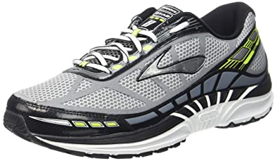 Brooks Mens Dyad 8 River Rock/Black/Nightlife Sneaker 8 D (M)